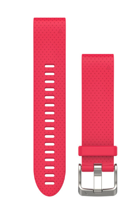 Azalea Pink Silicone Band QuickFit 20mm for fenix 5s