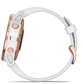 Fenix 6S Pro Rose Gold with White Band Pro